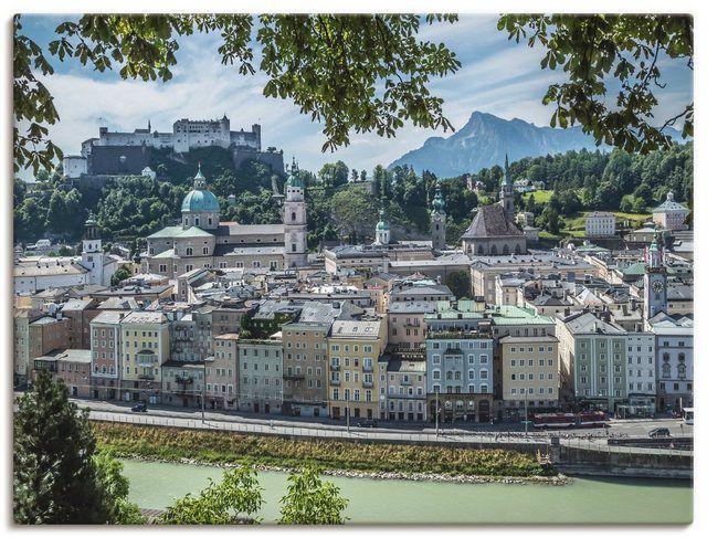 Artland Kunstdruck Poster »M. Viola: Salzburg Blick auf die Altstadt« online kaufen