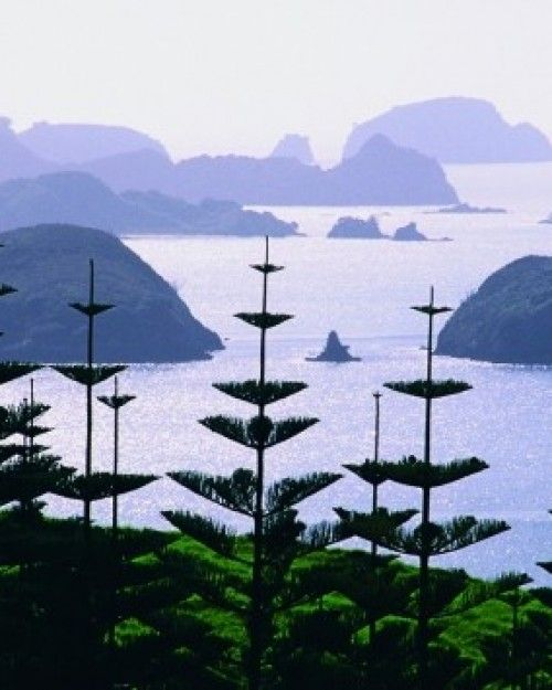 Composed of of 144 islands, the Bay of Islands , New Zealand