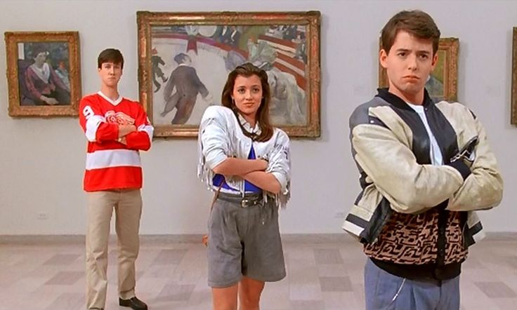 If you're currently sat behind a desk, be it school or office, consider standing up, walking out, donning a trench coat and heading to a museum, in honour of the fact that Ferris Bueller's Day Off took place 30 years ago this very day.