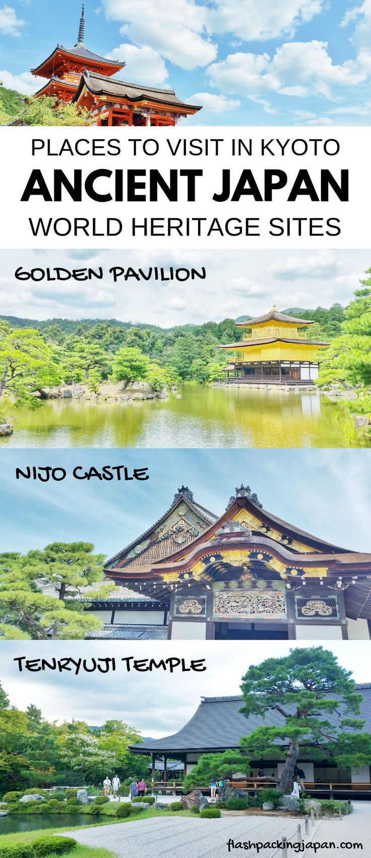 MAP: UNESCO world heritage sites in Kyoto – PHOTOS – Backpacking Japan Travel