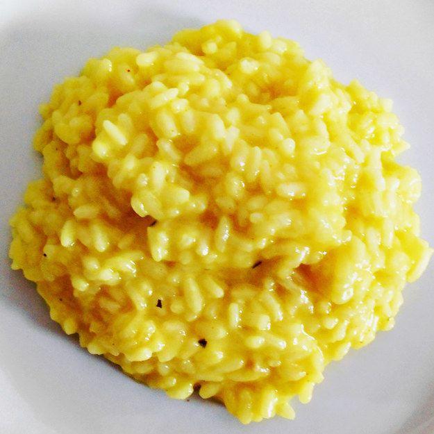 Risoto milanês | 11 receitas de risotos para você se sentir muito adulto na cozinha