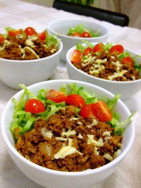 美味しい☆タコライス by hiroキッチン [クックパッド] 簡単おいしいみんなのレシピが239万品