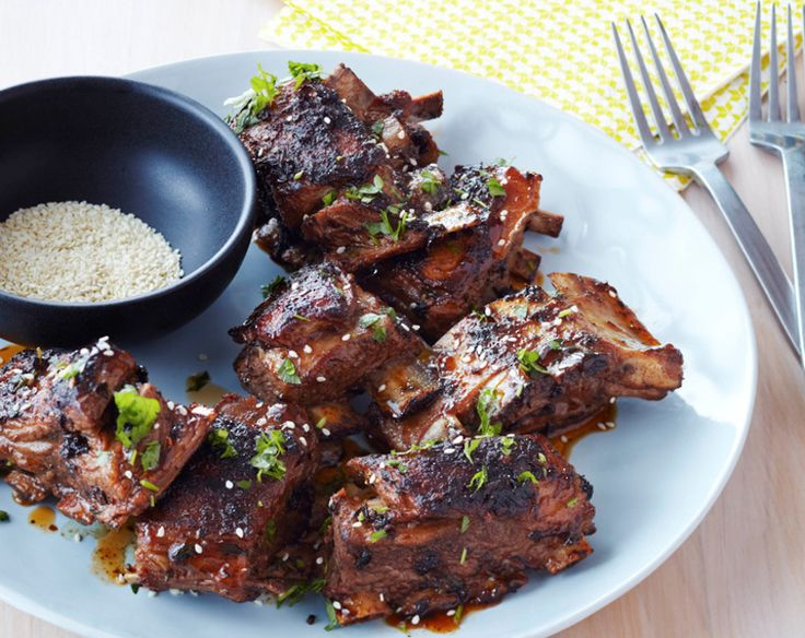 Lemon, Honey & Rosemary Lamb Ribs