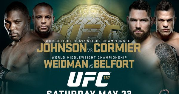 UFC 187 Betting Lines With Bubba McDaniel!