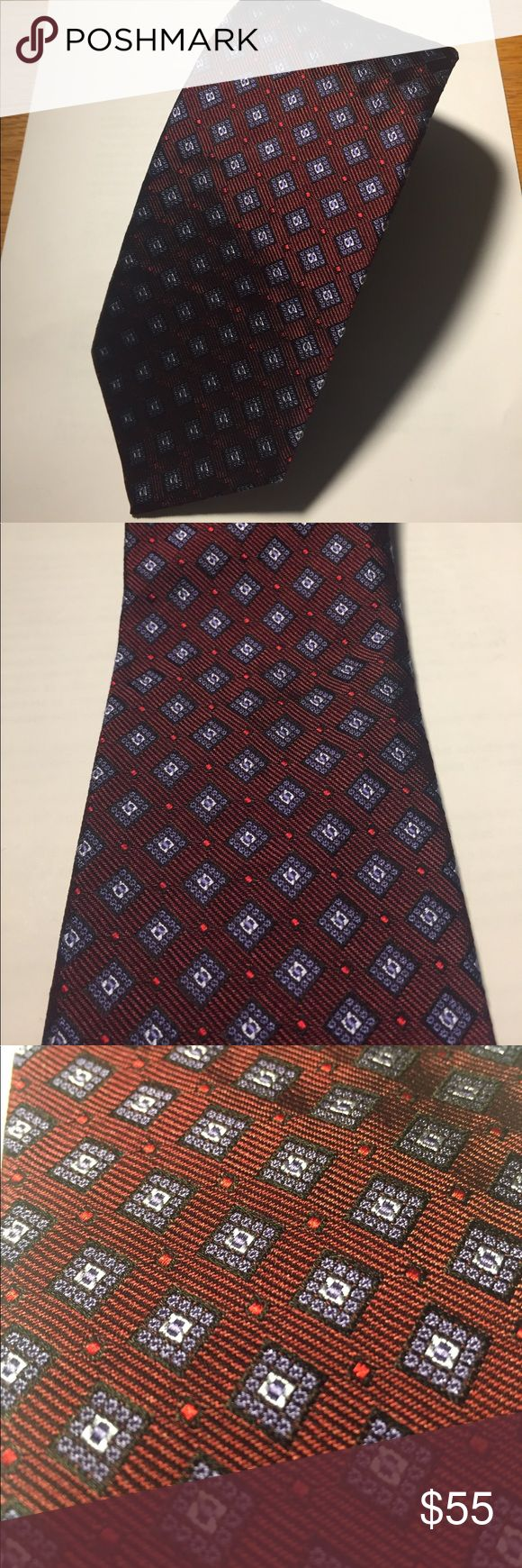 NWT Brooks Brothers tie maroon and blue beautiful! Brand new With Tags Brooks Brothers tie. Beautiful maroon color with blue accenting! Incredible feel and an outstanding tie. Perfect for any occasion!!! 100% silk! Brooks Brothers Accessories Ties