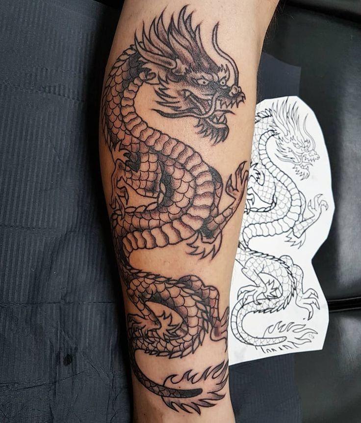 точно картинки татуировок драконов на ноге него совершаются