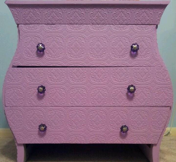 textured paintable wallpaper dresser - photo #2