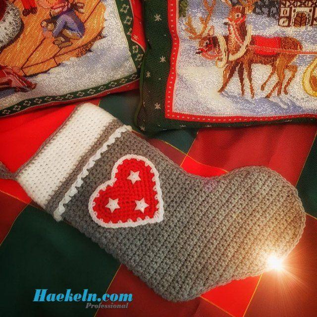 20 besten Weihnachtsmotive Stricken/Häkeln Bilder auf Pinterest ...
