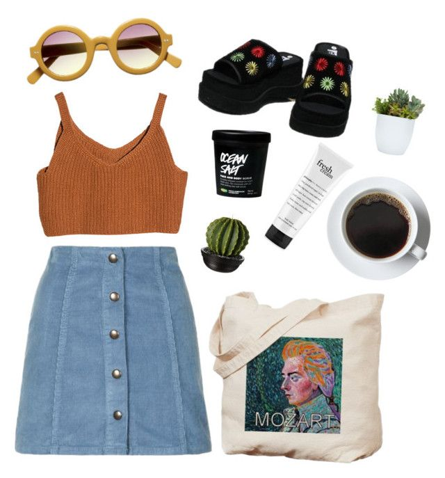"""""""mozart"""" by mikaela-obrien on Polyvore featuring Topshop and philosophy"""