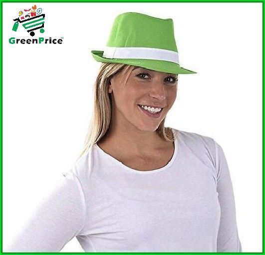 St Patrick's Day Fedora Women Men Irish Hat Novelty Gift Pub Costume Accessories #irish #irishhat #hat #hats #fedora #saintpatricksday #stpatrickday #patrickday #ireland #irishcostume #green #greendecoration #leprechaun #irishcap #shamrock #celtic #irishpub #irishluck #partydecor #partydecorations #costume