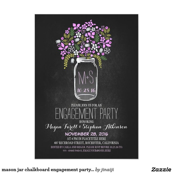 617 best Engagement Party Invitations images on Pinterest - engagement invite templates