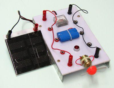 7002-1 Solar Kit Electricity