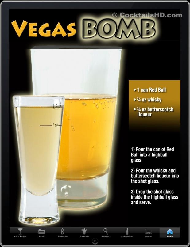 Vegas Bomb @ Cocktail Gallery
