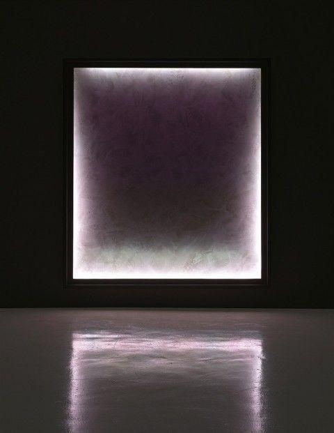 Stanley Casselman - Evolution-One-Emma Acrylic on polyscreeen, lightbox, RGB-LED array, 2008-2010