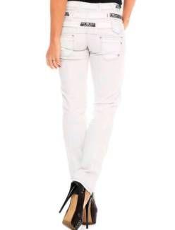 Cipo&Baxx Damen Jeans hose 3 bund in weis in Sachsen-Anhalt - Jessen (Elster) | eBay Kleinanzeigen