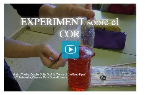 Experiment sobre el COR. Helena Cortès. Curs 2011-12. 1r curs Primària.