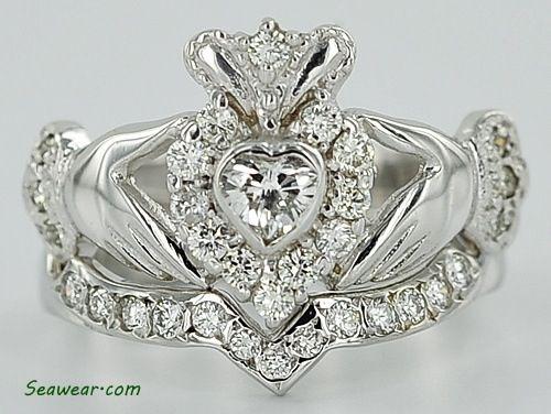 Best 25 Claddagh wedding ring ideas on Pinterest Celtic wedding