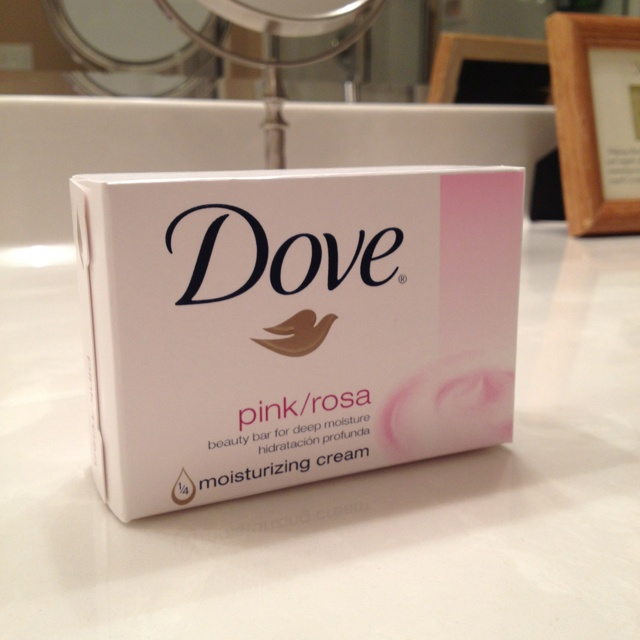 Dove is the only soap I will ever use on my sensitive skin!