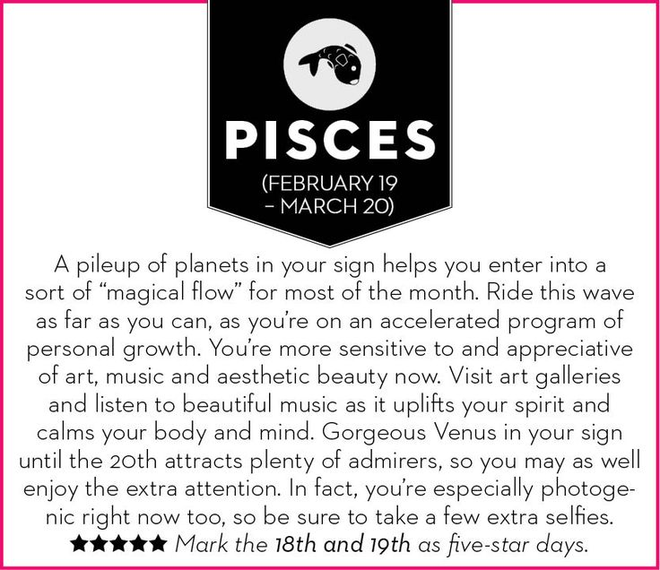 Pisces, get your February 2015 horoscope – Chatelaine