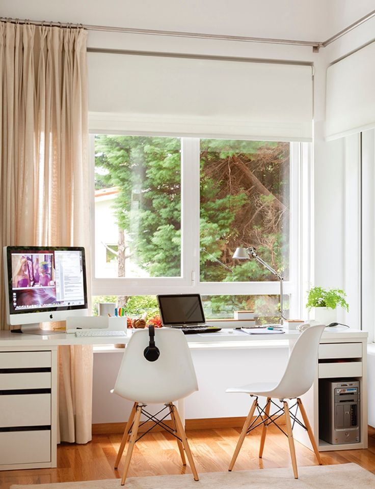 Las 25 mejores ideas sobre escritorio de ventana en for Muebles de oficina zona san martin