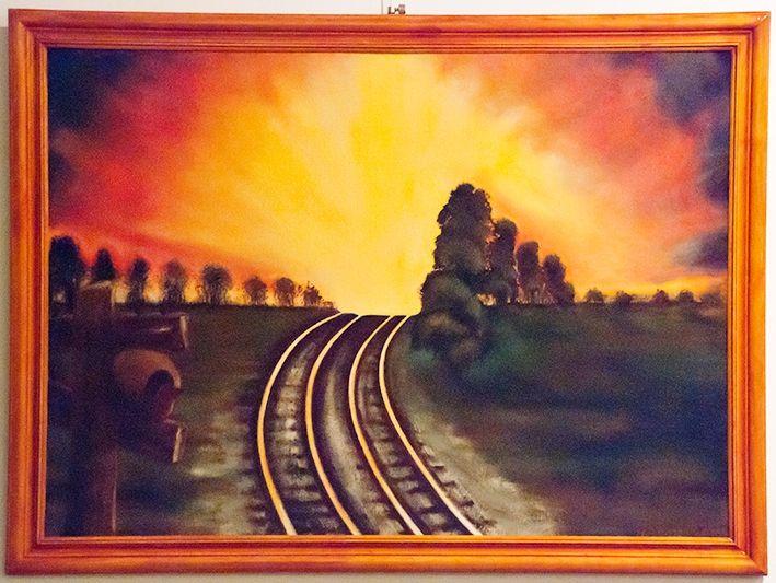 Hasta Mañana 1 - $ 1650.- Óleo 53 x 78 cm Nestor Gabriel Cozzi