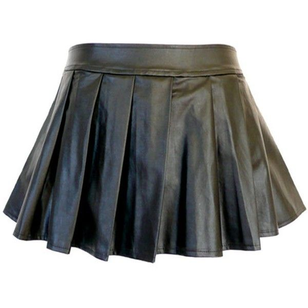 Amazon.com: 5209 - Plus Size PVC Faux Leather Pleated Sexy Mini Skirt... (39 NZD) ❤ liked on Polyvore featuring skirts, mini skirts, plus size pleated mini skirt, short skirts, faux leather skirt, plus size pleated skirt and womens plus size skirts