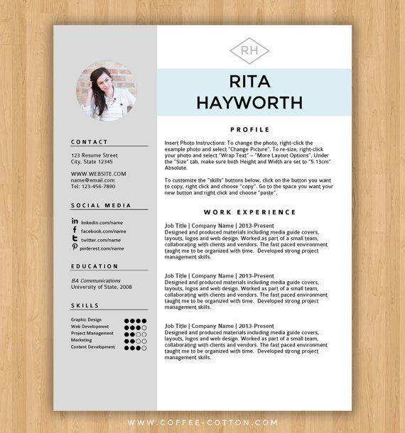 best 25 free resume templates word ideas on pinterest cover - The Best Free Resume Templates