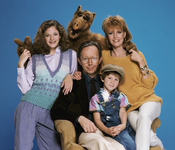 ALF tv series. From 1986 to 1990, ALF, a refugee from the planet Melmac, made himself right at home with the Tanners! Credit: Getty Images