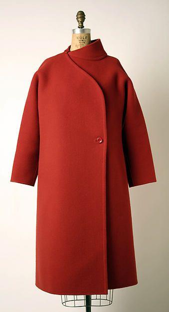 Coat Designer: Madame Grès (Alix Barton) Date: 1985