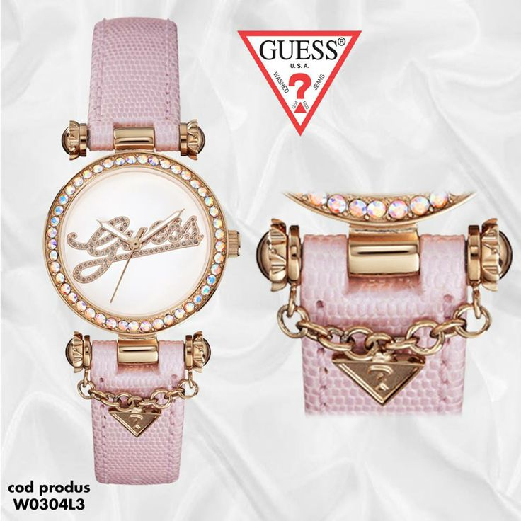 Guess Swag W0304L3 - sexy, tanar, indraznet, elegant. Link catre produs: http://ceasmania.ro/ceasuri-guess/guess-guw0304l3.html