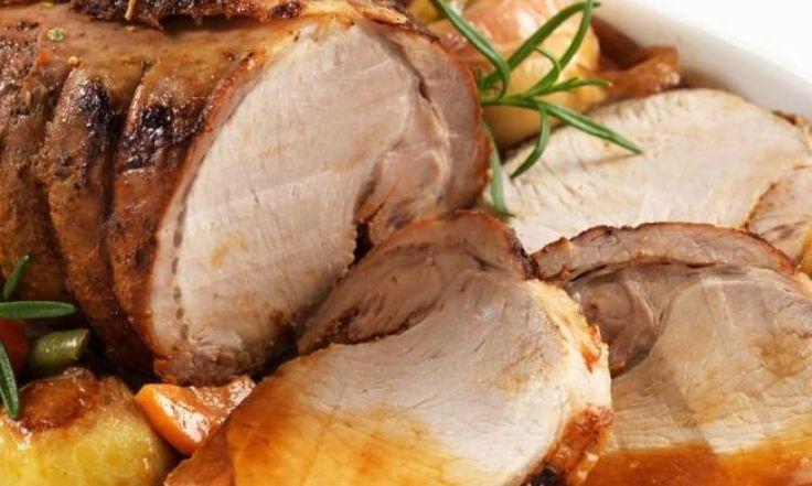 Rôti de porc au vinaigre balsamique...préparer à la mijoteuse, un vrai régal