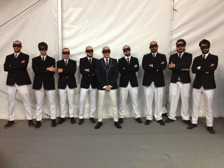 Giuliano Palma and the bluebeaters at Zelig wear LeCrown shoes