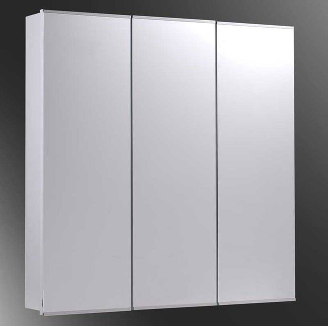 Ketcham 36 X 36 Surface Mounted Mirrored Bathroom Medicine Cabinet