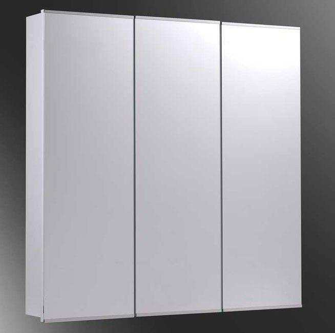 Ketcham 36 X Surface Mounted Mirrored Bathroom Medicine Cabinet