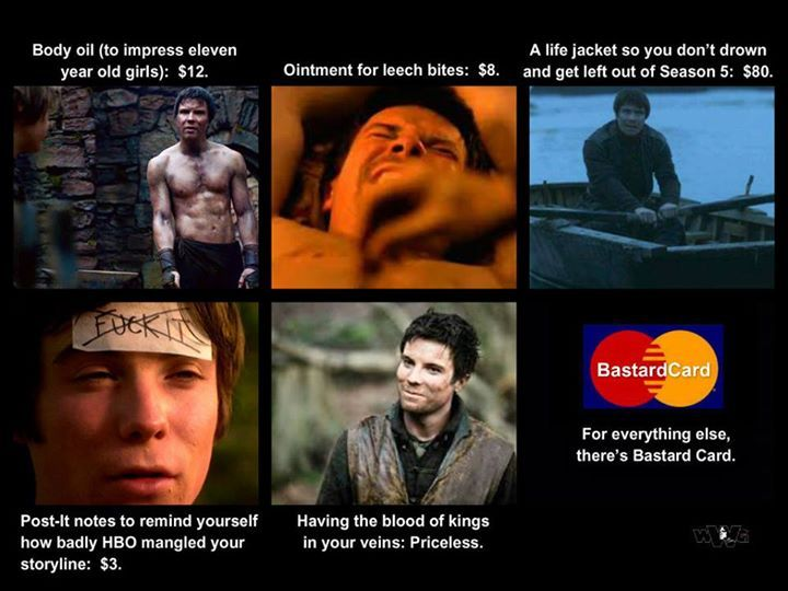 gendry and arya relationship memes