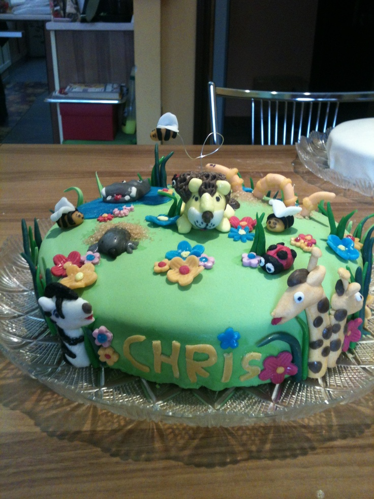 Christian cake,4 years #kidscakes