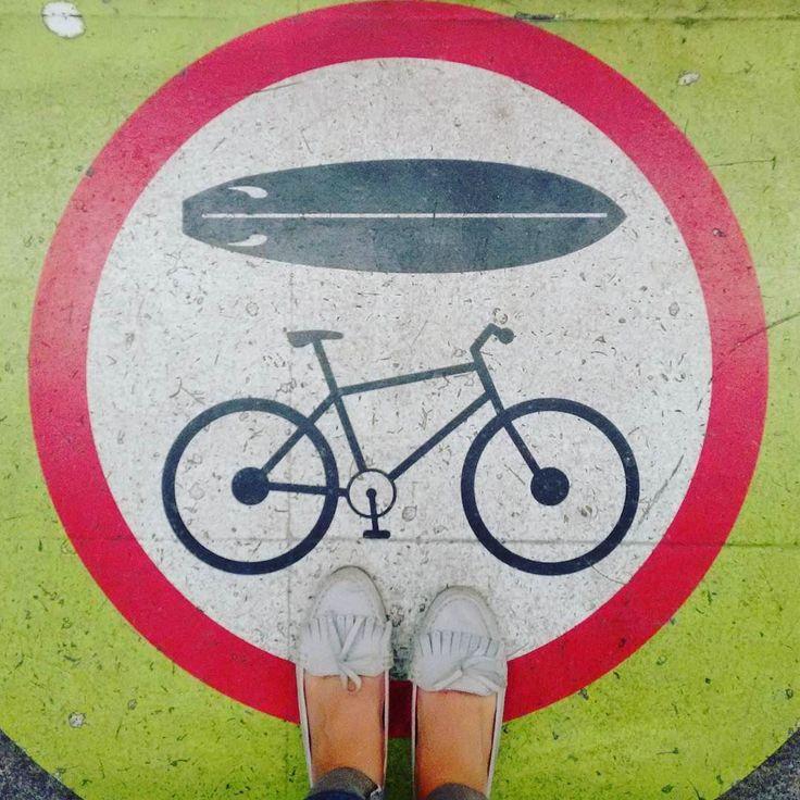 #Rio below our feet! Enjoy your #weekend!! #metrorio #bike #surf #outdoors #riodejaneiro #brazil #fatwproject  #Rio aos nossos pés! Bom fim de semana!! #metrorio #fimdesemana #riodejaneiro #brasil #fatwproject by fatwproject