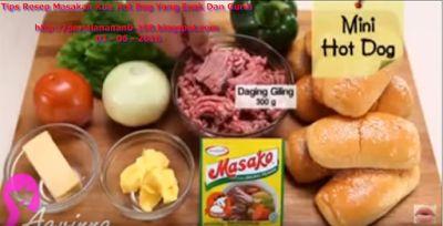 Tipsku: Tips Resep Masakan Kue Hot Dog Yang Enak Dan Gurih...