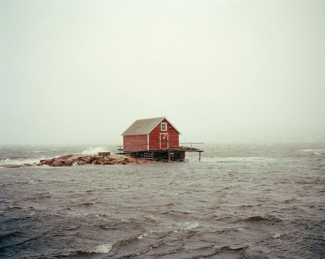 Weekend Cabin: A windswept shelter almost as big as the island it's on. http://adv-jour.nl/14qIsx3