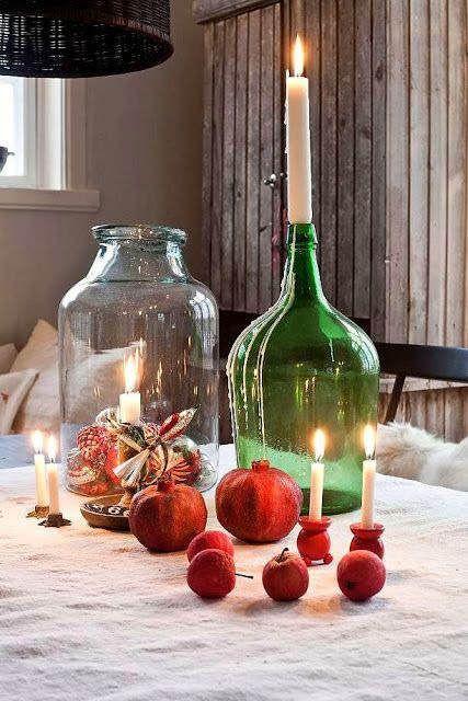 17 mejores ideas sobre centros de mesa navideña en pinterest ...