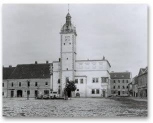 Radnice, po roce 1900