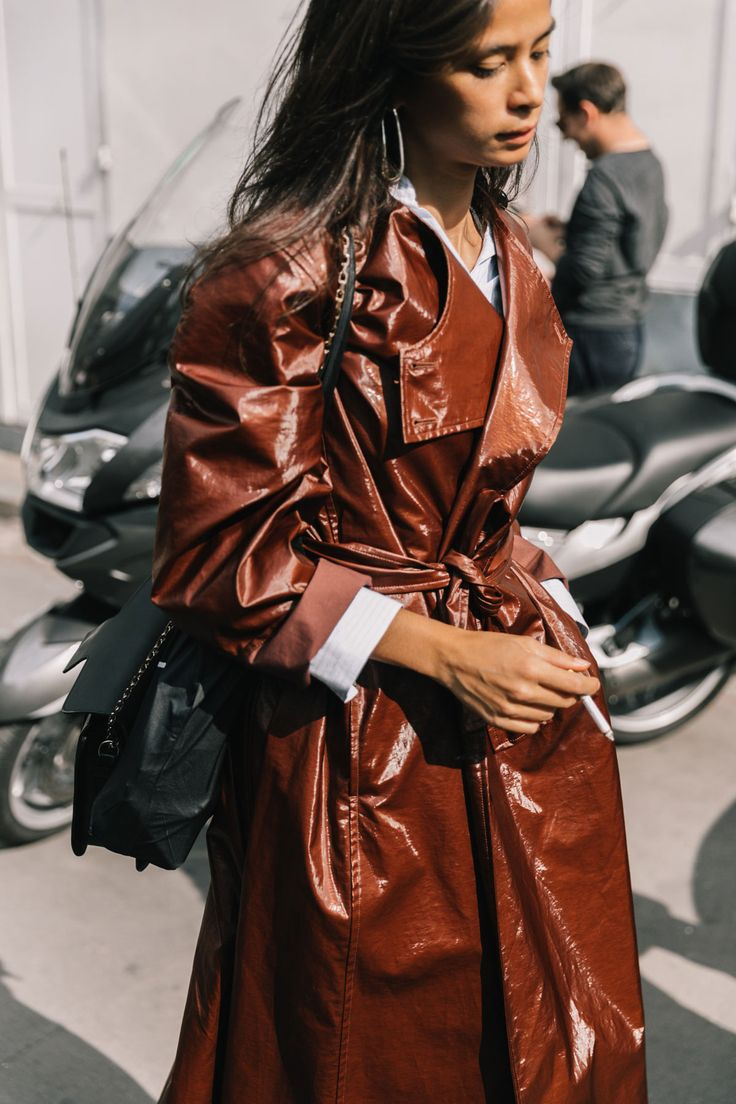 shop Lemaire coat @wendelavandijk.com Street Style #PFW / Día 1 / 27 de septiembre de 2017