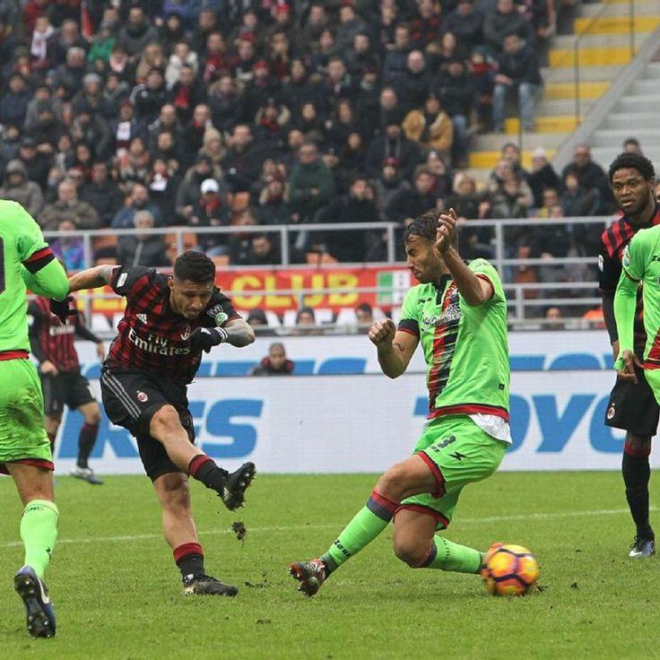 Gianluca Lapadula the hero as lacklustre Milan beat Crotone