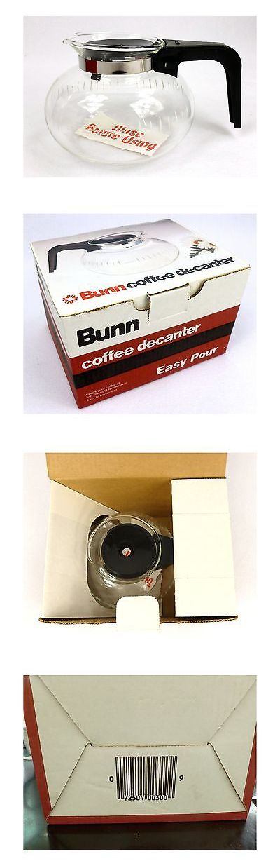 Replacement Parts and Accs 99565: Bunn Coffee Decanter - Glass Coffee Carafe - New Free Shipping -> BUY IT NOW ONLY: $46.77 on eBay!