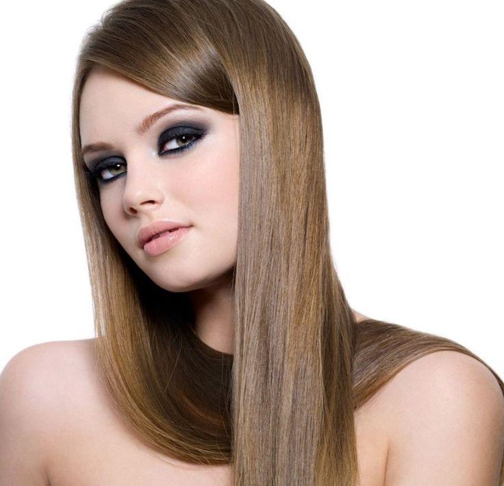 Düz Fönlü Saç Modeli