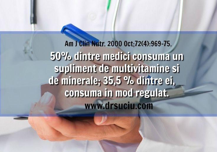 Photo doctorii consuma suplimente - drsuciu