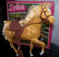 barbie horse...the girls have this too!