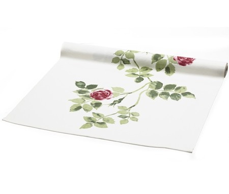 Sikje table runner with country floral print from Ikea