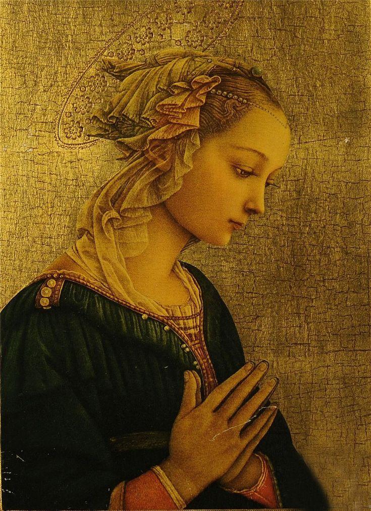 Madonna delle Roccie,  Fra Filippo Lippi, Italian early Renaissance painter (1406-1469)
