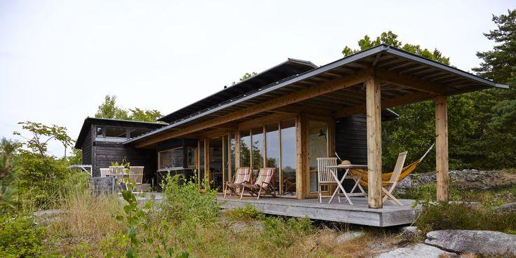 Sommerhytta i Larvik er inspirert av japansk arkitektur